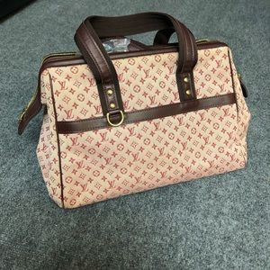 Authentic Louis Vuitton josephine gm tote bag